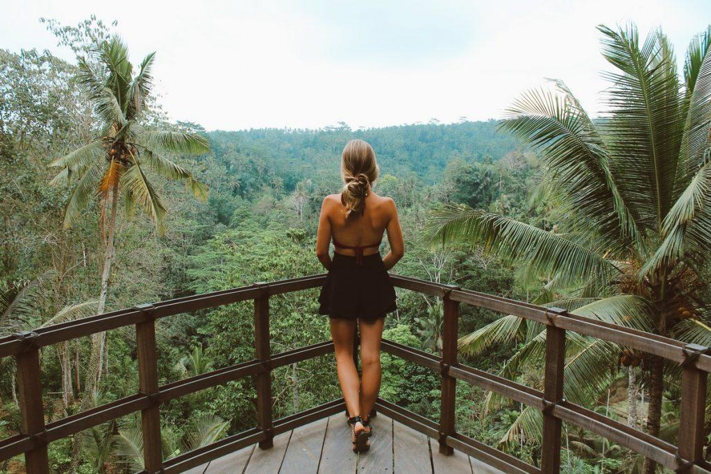 El mirador de Bali Pulina, en Ubud