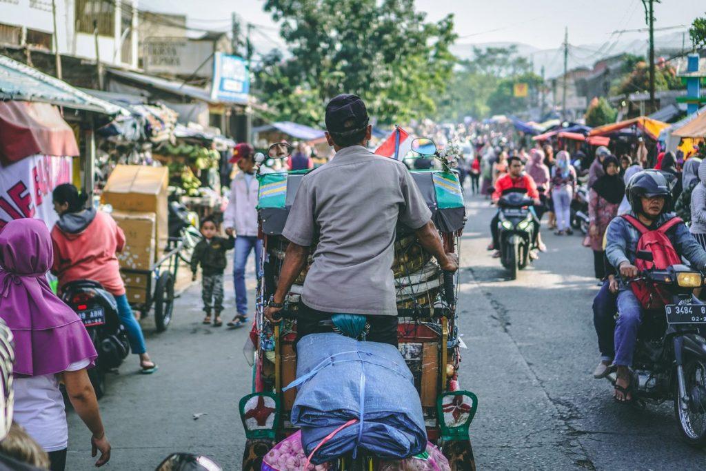 El ajetreo que te encontrarás al viajar a Indonesia