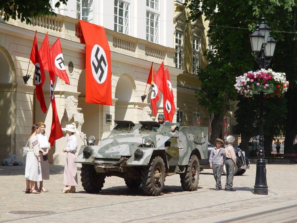 La esvástica nazi de Hitler
