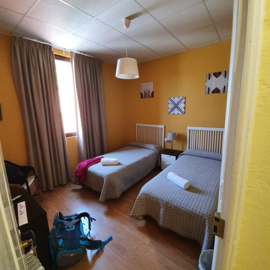 Nuestra habitación privada en Sarria