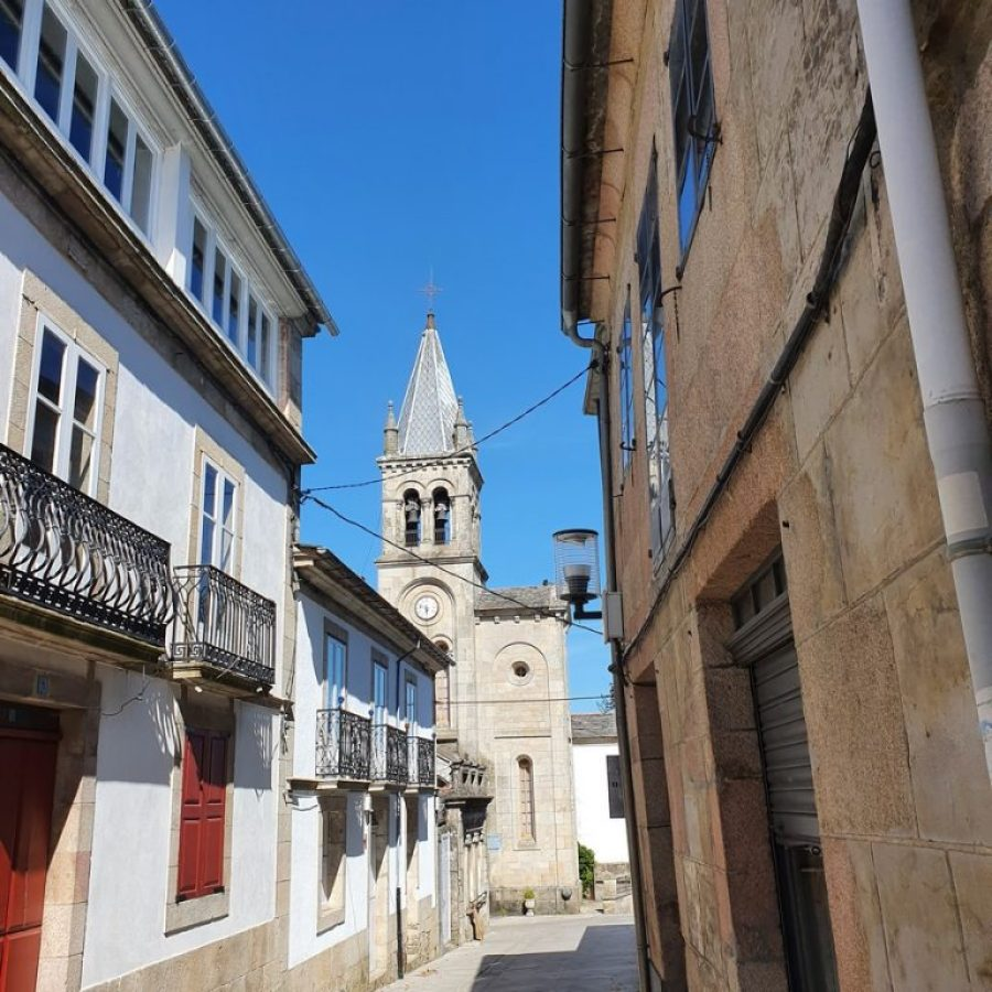 Paseando por las calles de Sarria