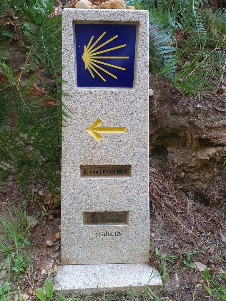 Camino Complementario al salir de Portomarín