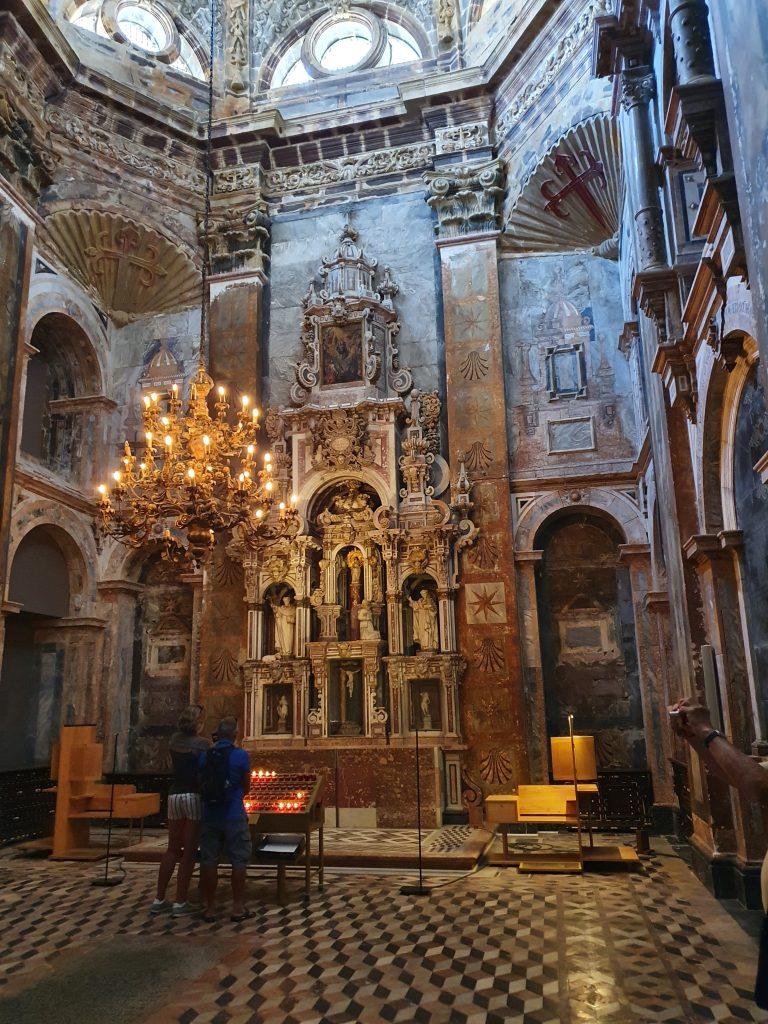 La capilla del Pilar de la Catedral de Santiago de Compostela