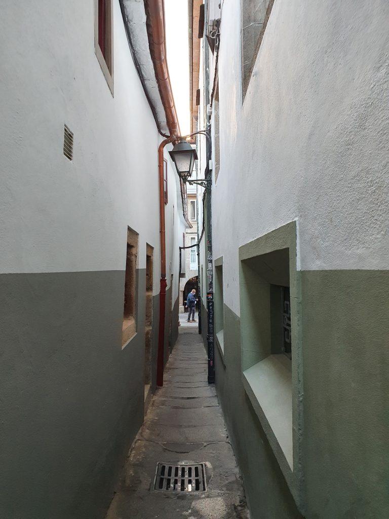 Callejuelas de Santiago de Compostela