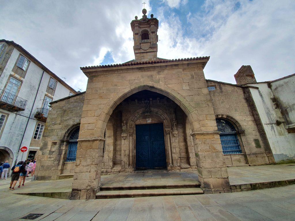 Iglesia de San Fins de Solovio en Santiago de Compostela