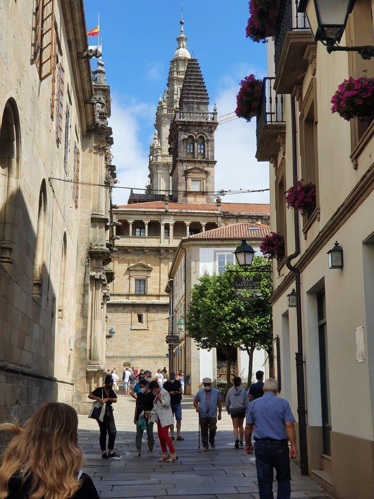 Callejeando por Santiago de Compostela