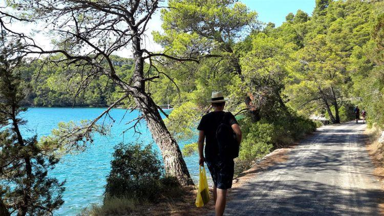 Camino por Veliko Jezero