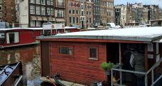 El barco de gatos de Ámsterdam