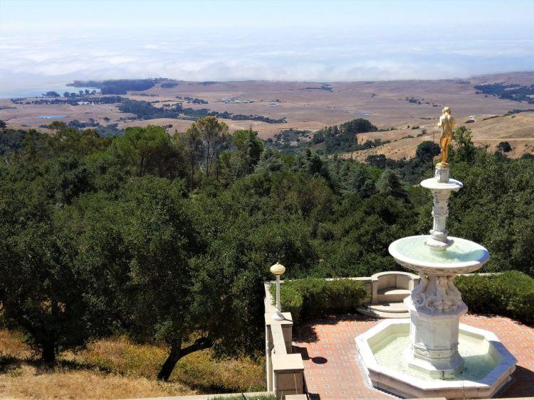 Vistas desde el Castillo Hearst