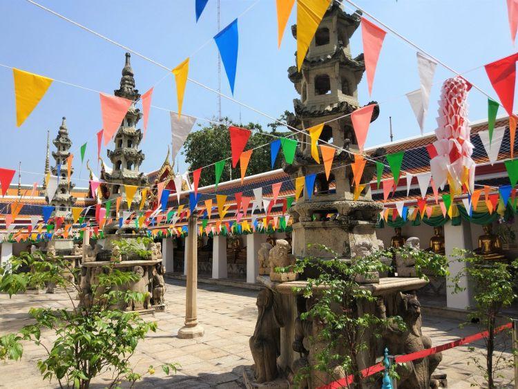 Wat Pho celebración