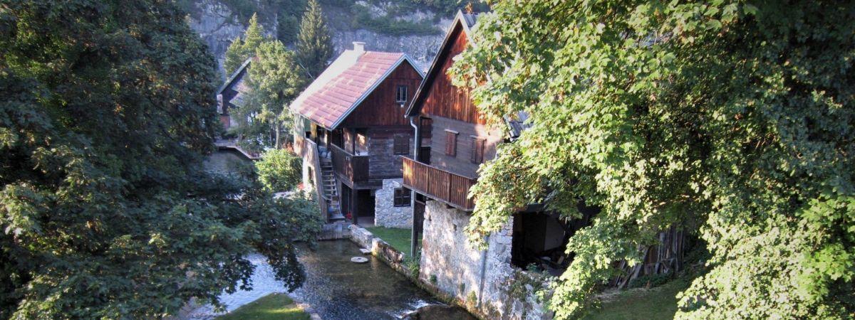 Slunj Rastoke, un pueblo de cuento en Croacia