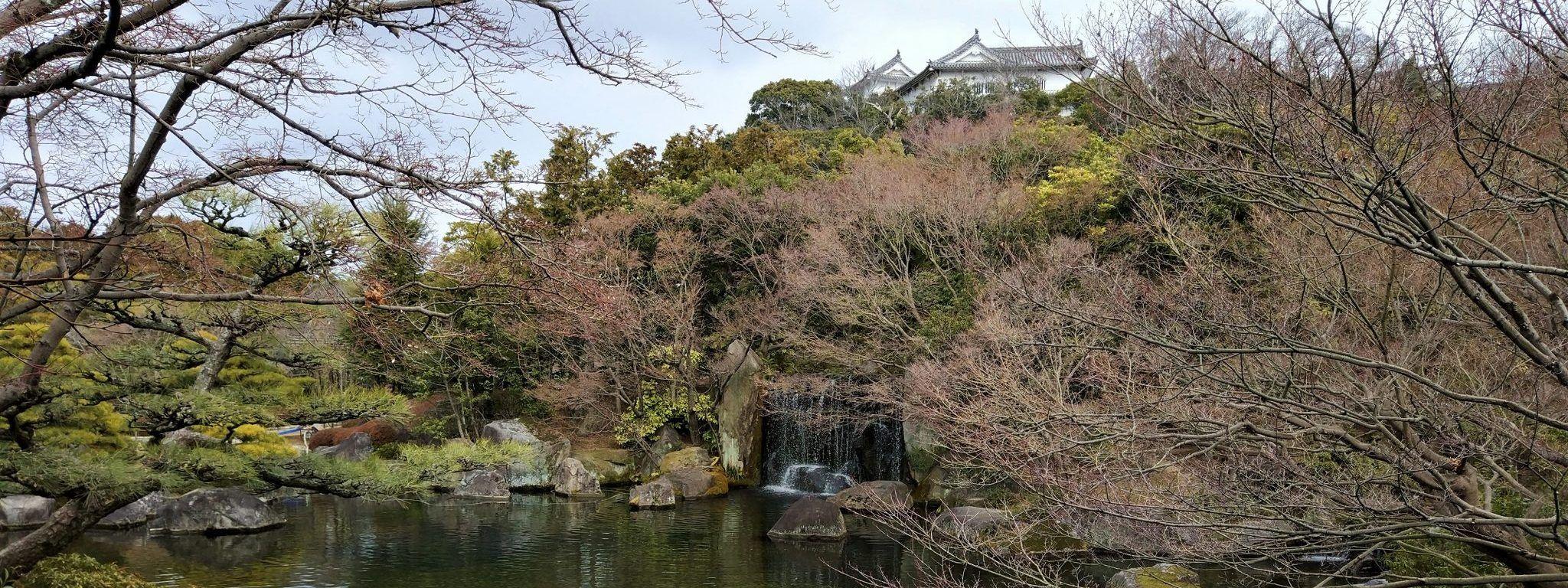 Koko-en, el jardín de la ciudad de Himeji