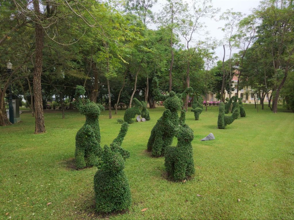 jardines Bang Pa In