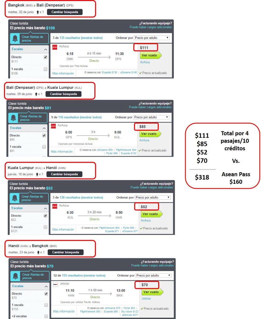 AirAsia Comparacion