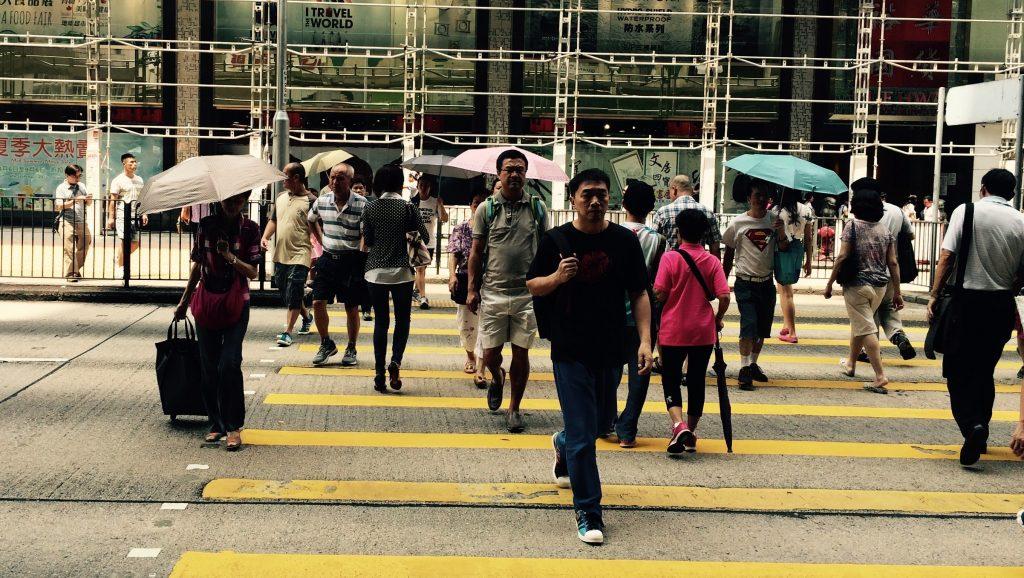 Paraguas en días soleados - Hong Kong