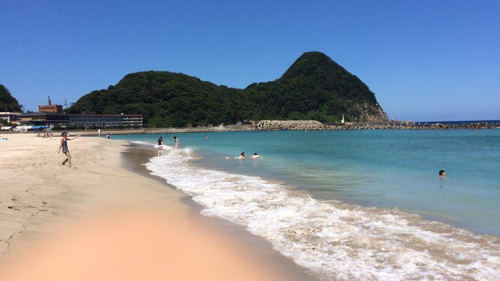 Playa en Japón