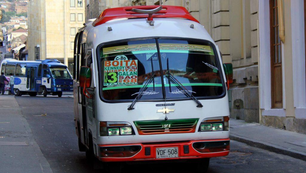 Viajar a Bogotá - Buseta