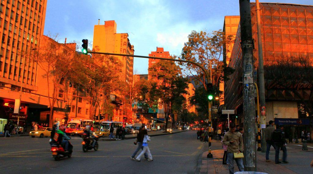 Calles de Bogota, Colombia