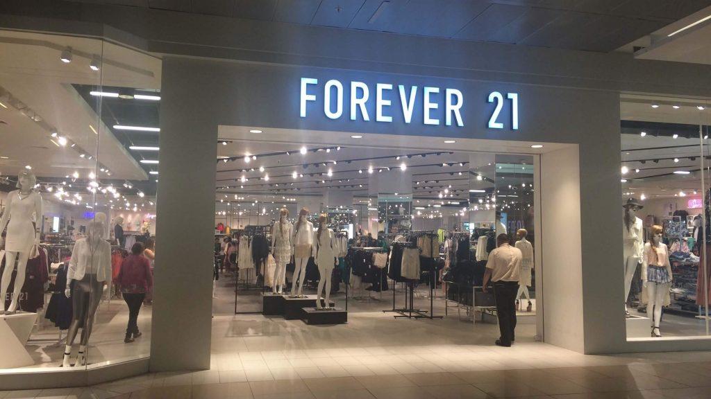 Forever 21 Chile direcciones y horarios