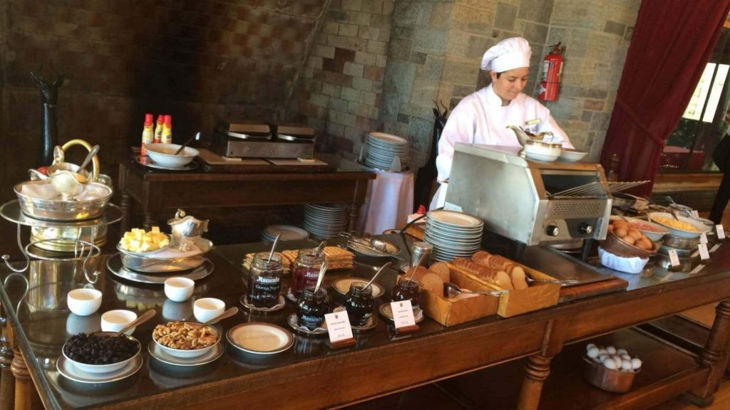 Llao Llao Hotel Bariloche desayuno