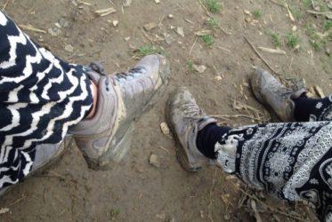 Zapatillas trekking viaje hacer mochila para dar vuelta al mundo