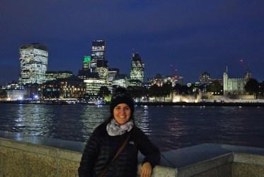 Londres atardecer anochecer
