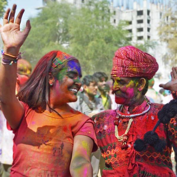 Colores Holi Festival Conocer India