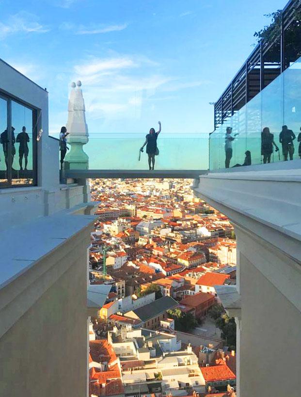 Secretos De Madrid La Terraza Del Hotel Riu Plaza España