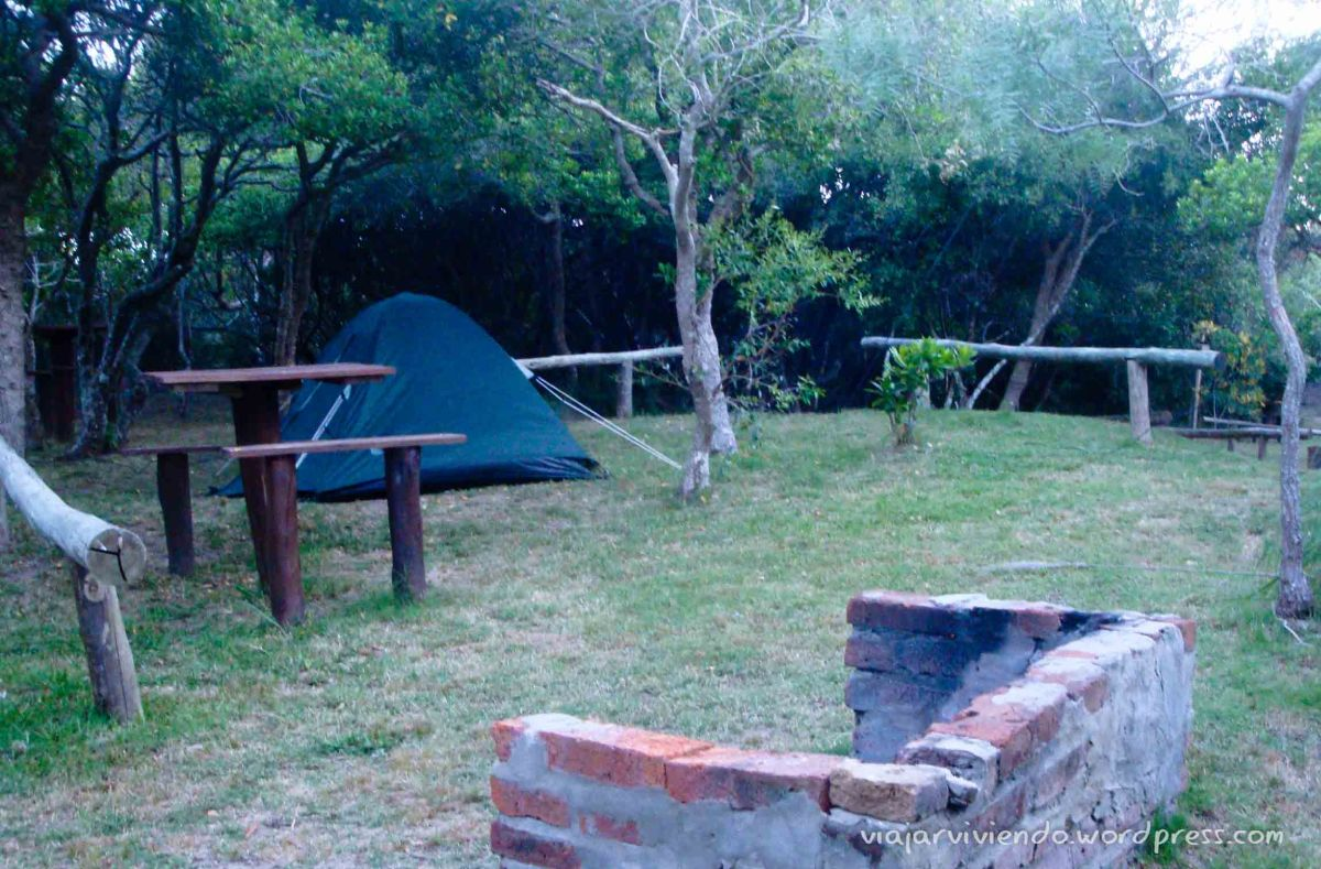 camping en La Pedrera Uruguay