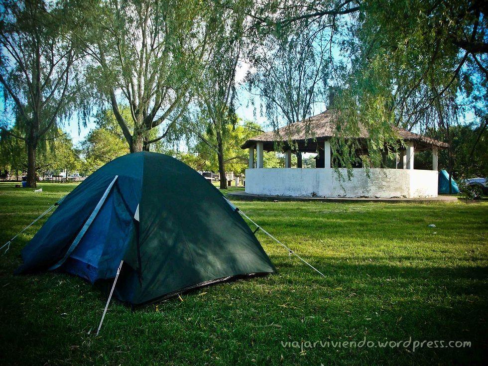 acampar en Victoria Entre Rios
