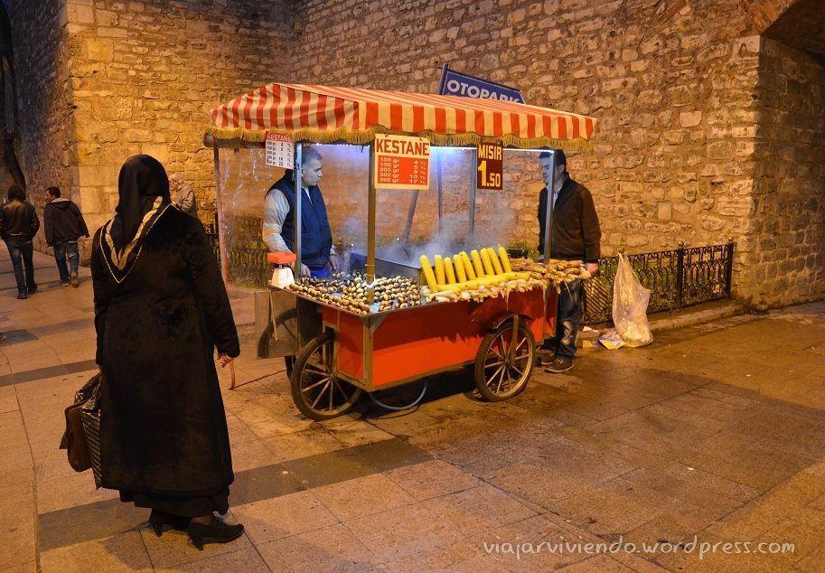 vendedor en Istanbul