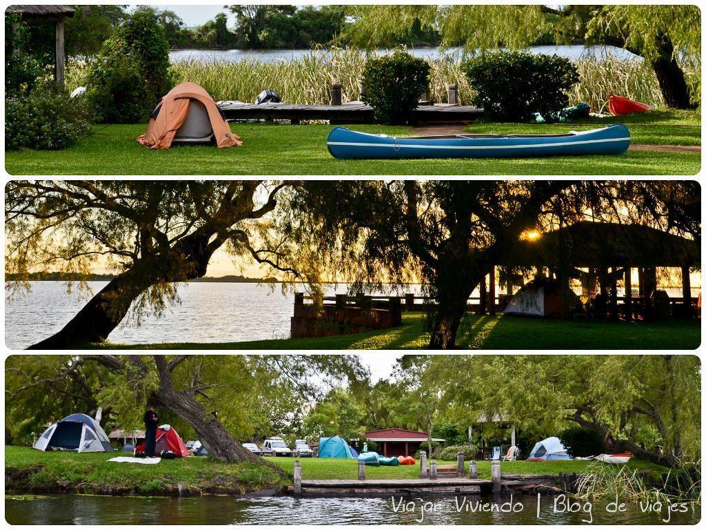 dónde dormir en los esteros del iberá - camping municipal