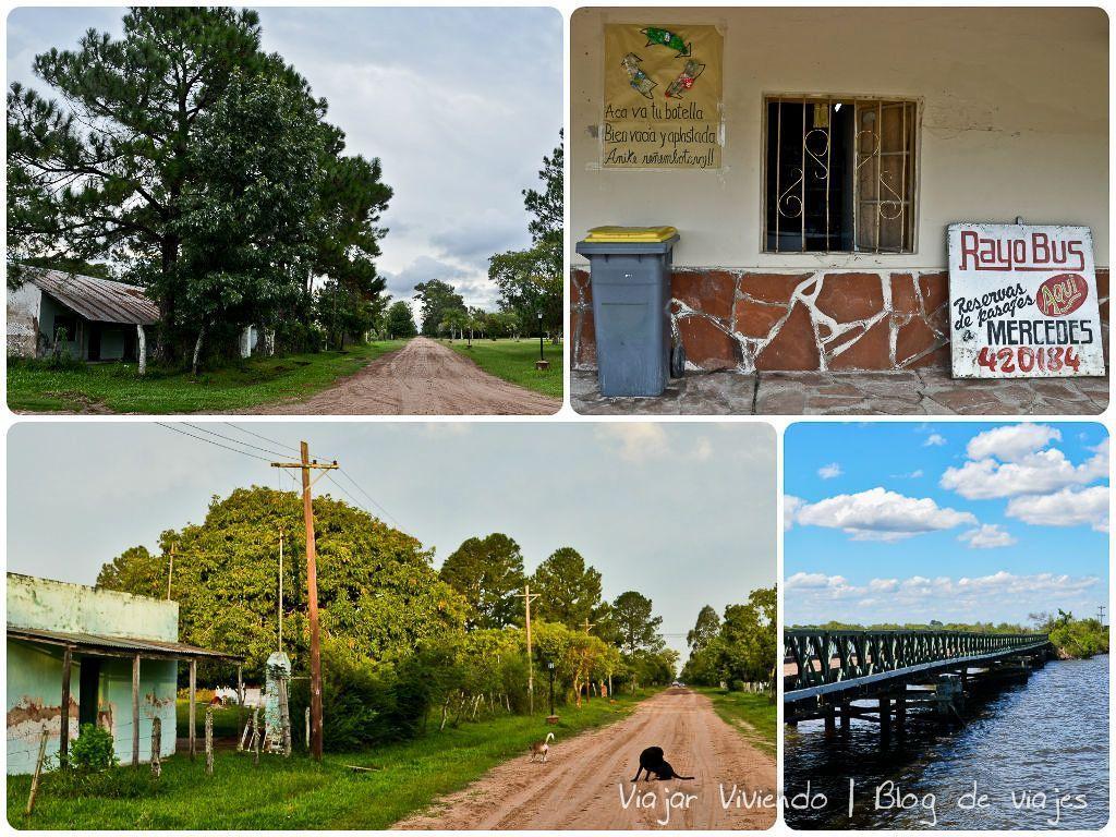 Colonia Carlos Pellegrini collage del pueblo