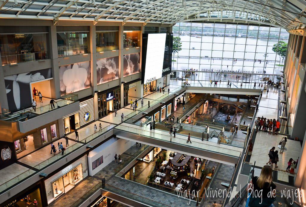 Marina Bay Sands Singapur por dentro