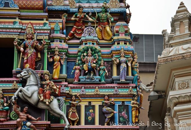 templo hindu Sri Mahamariamman KL
