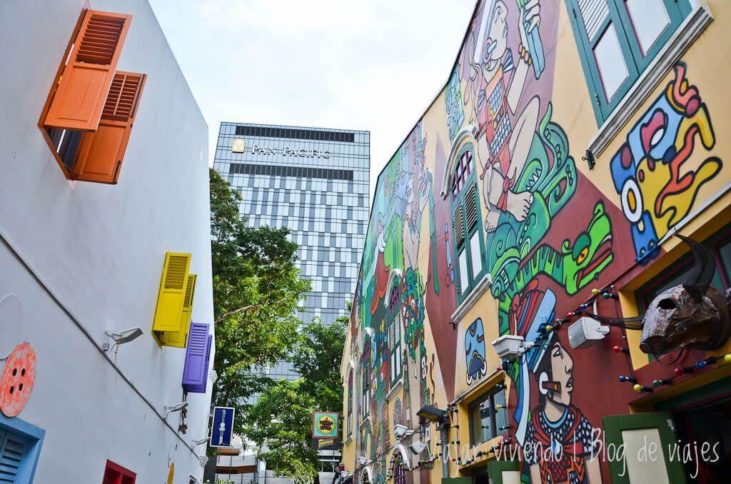 Haji Lane - que hacer en Singapur gratis