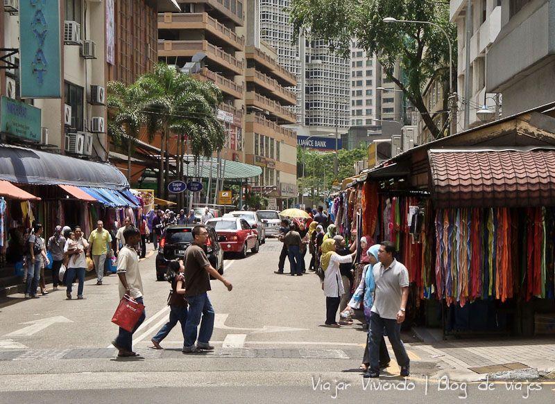 little india Kuala Lumpur calle
