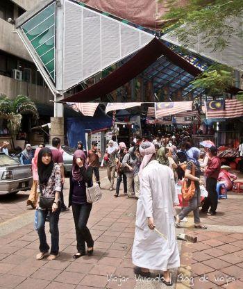 caminar en Kuala Lumpur