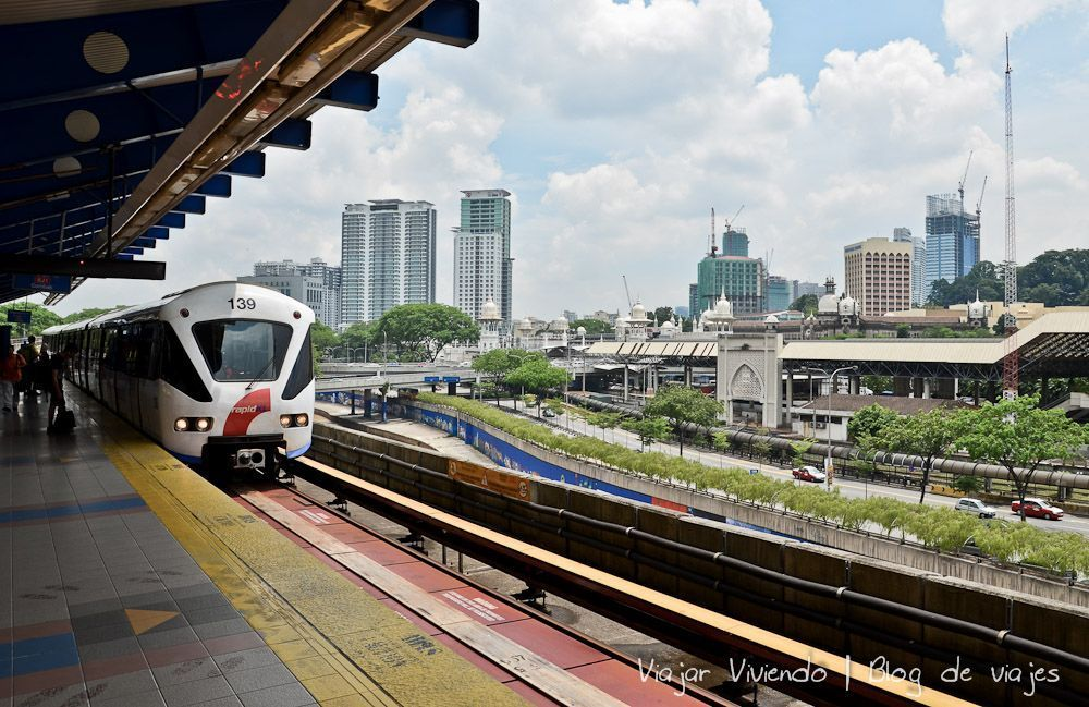 LRT Kuala Lumpur - transporte en Kuala Lumpur