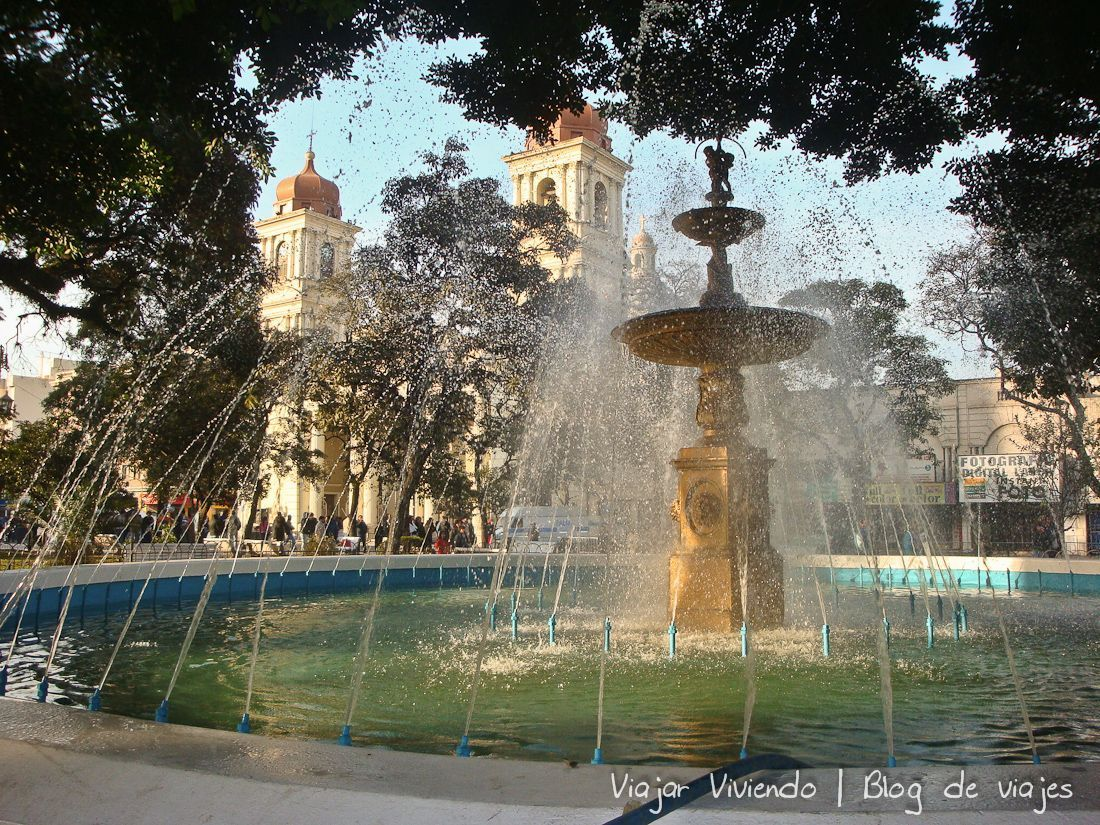 plaza independencia tucuman