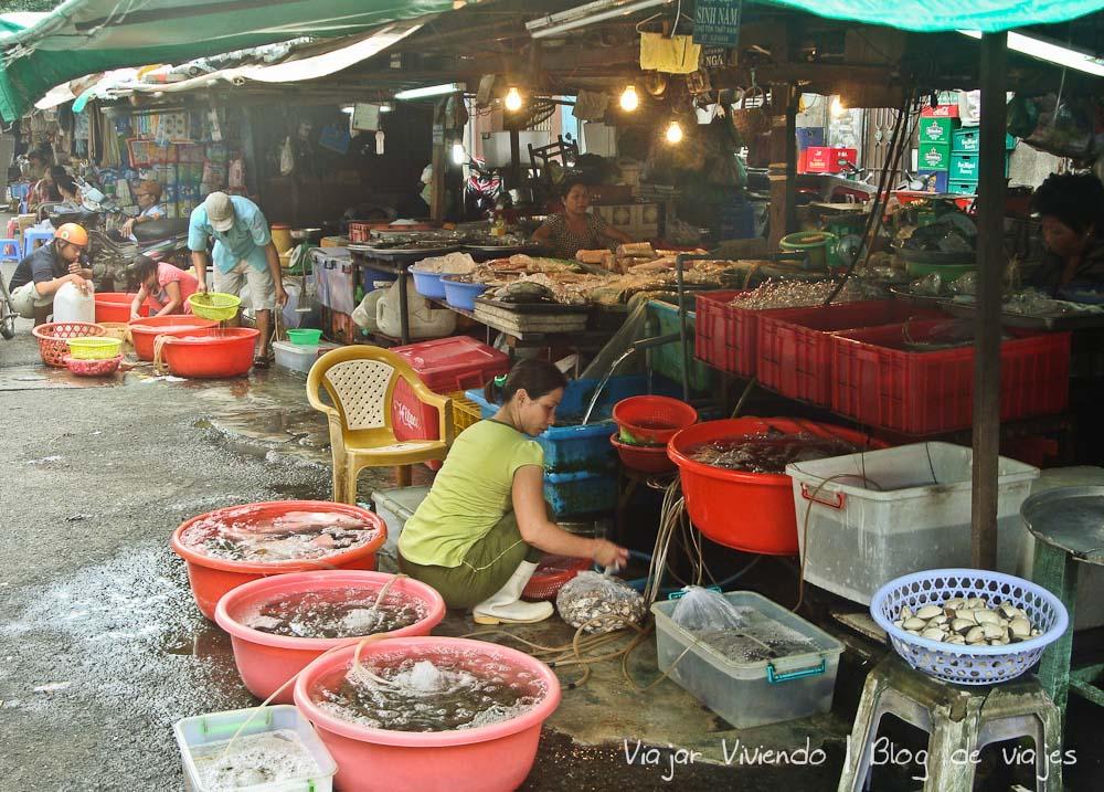 mercado ho chi minh vietnam - consejos viajar a Vietnam