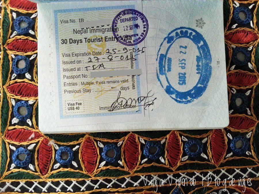 visado nepal on arrival - visa para viajar a India, Nepal y Maldivas
