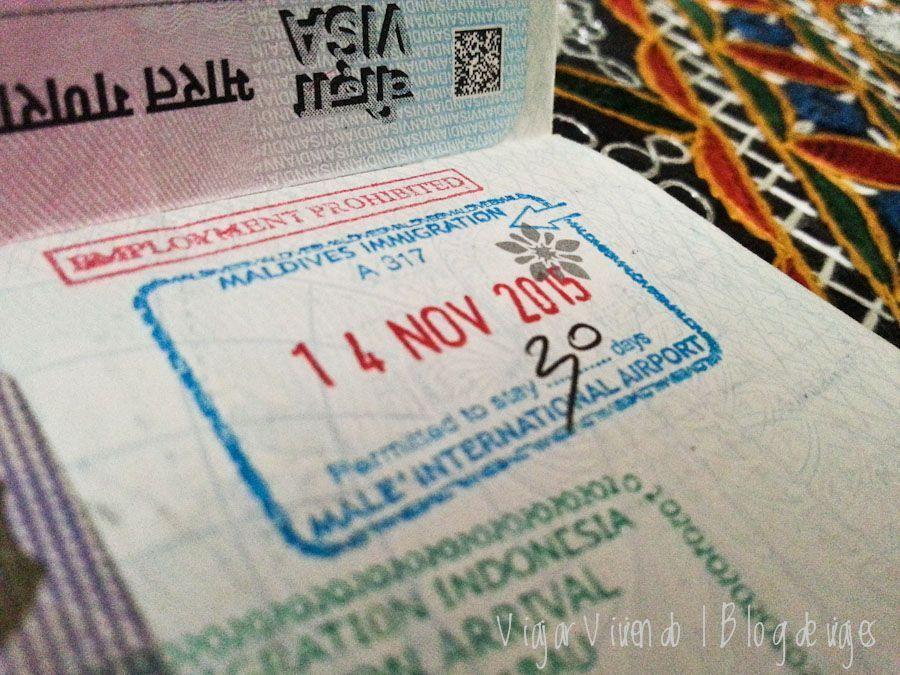 visa maldivas gratis aeropuerto
