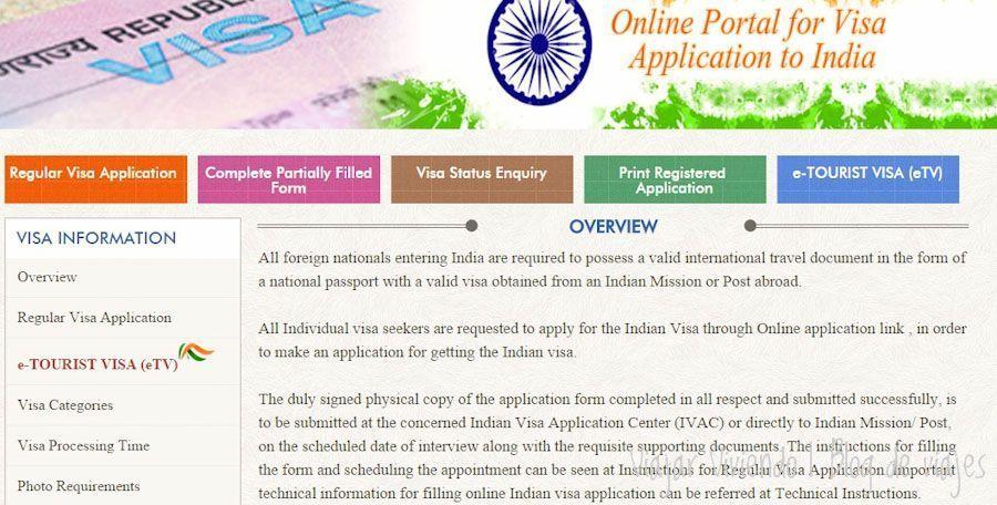 e-Tourist Visa india facil