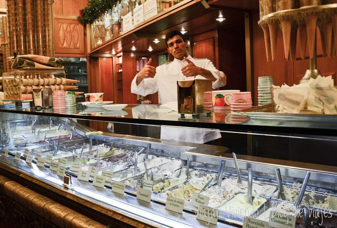 mejor heladeria de Roma Giolitti