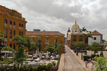 Charleston Santa Teresa en Cartagena, desde la muralla
