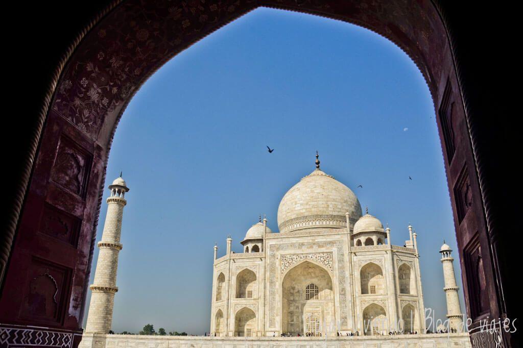 viajar al Triangulo de Oro - Taj Mahal