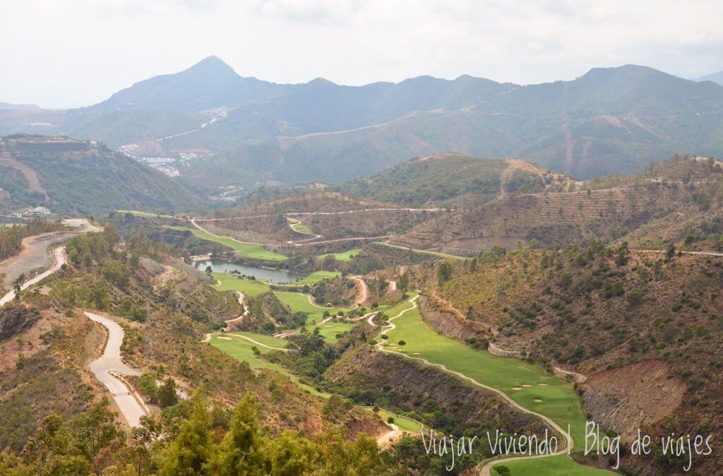 ruta en coche por España - mirador