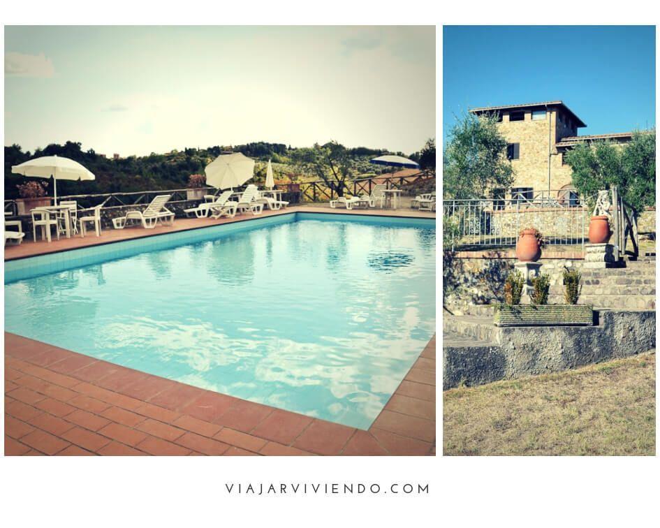 Dormir en la Toscana