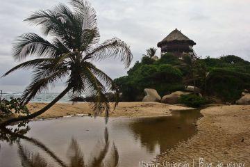san juan del guia en tayrona playa